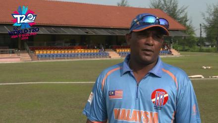 ICC World Twenty20 Asia Region Qualifier B: Malaysia v Nepal – Sampath Perera pre-match interview
