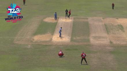 ICC World Twenty20 Asia Region Qualifier B: Malaysia v Singapore highlights