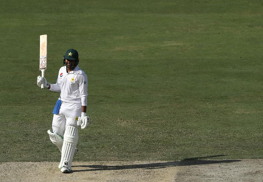 Haris Sohail made a hundred, but Labuschange brought Australia back into the game