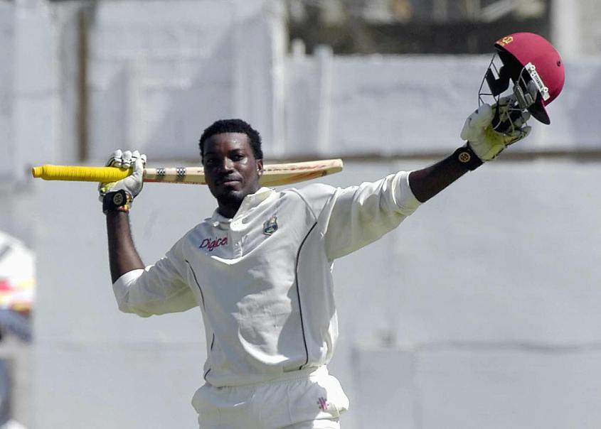 Gayle is one of four players with two Test triple centuries