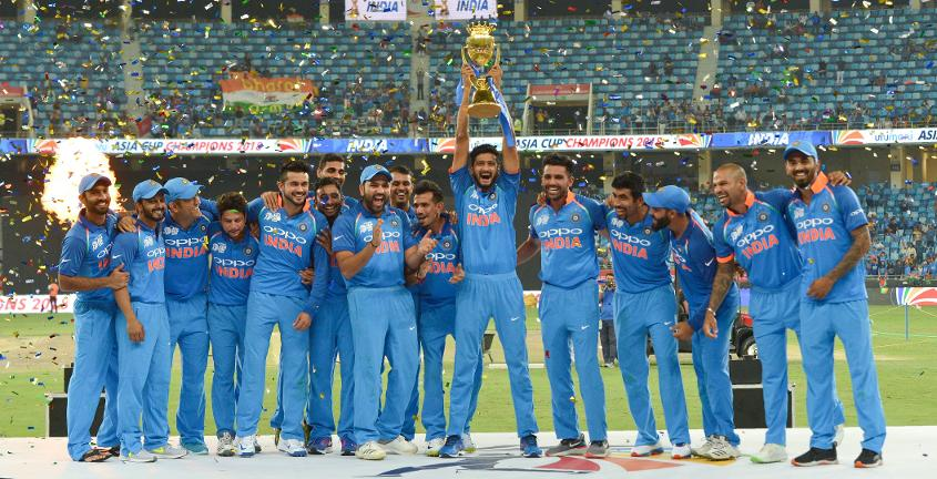 India claimed the Asia Cup title