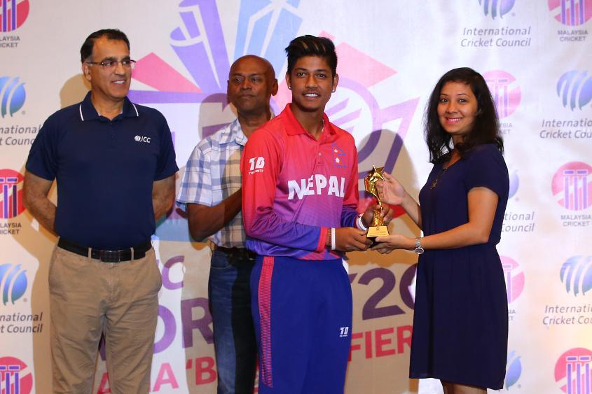 Sandeep Lamichhane took 24 wickets