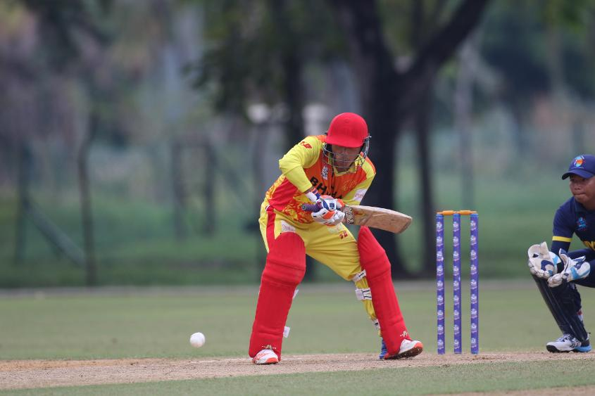 Bhutan finished with a win over Myanmar