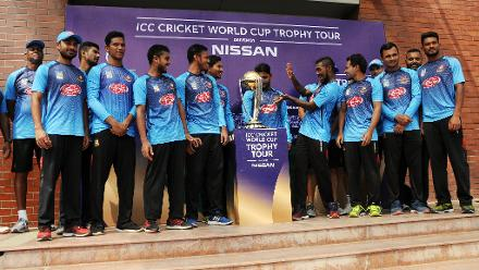 ICC Cricket World Cup 2019 Trophy Tour – Bangladesh
