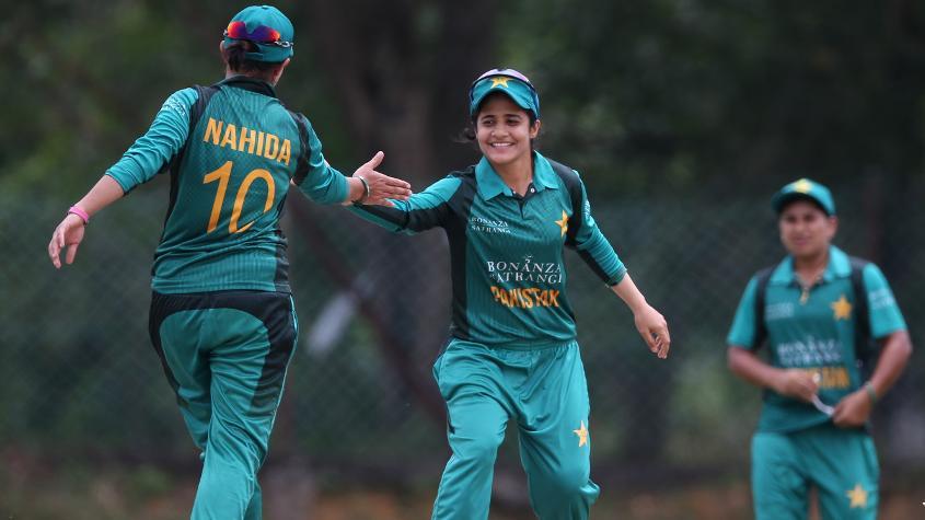 Pakistan Women made a fight of it in defending a low total, scalping five Australian wickets