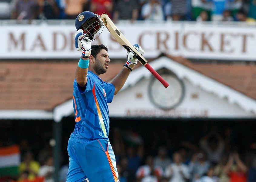 Yuvraj Singh ended the 2011 World Cup with 362 runs and 15 wickets