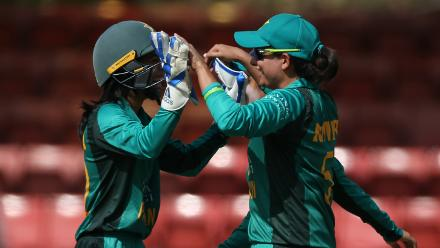 Action from the second ICC Women's Championship Pakistan v Australia ODI – 20 October, 2018