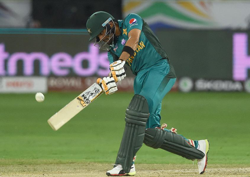 Babar Azam's 50 was the basis of Pakistan's total