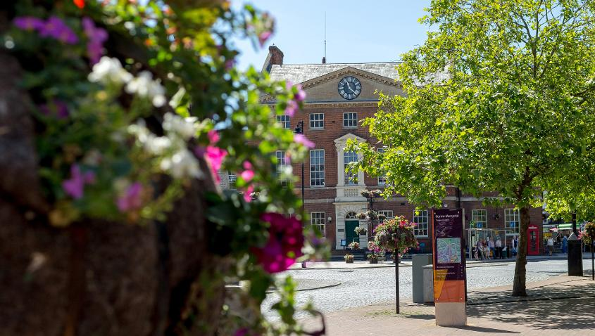 Taunton offers a thriving dynamic cultural life