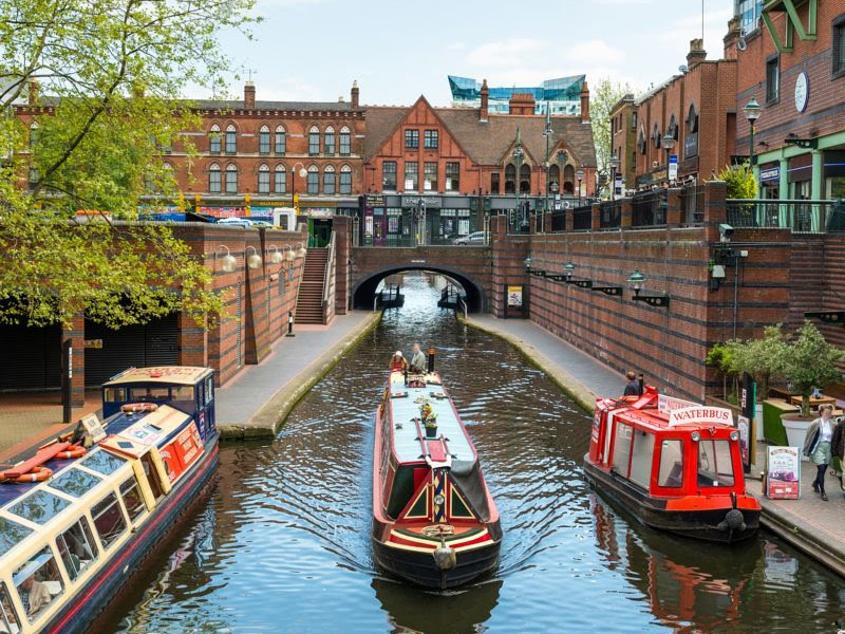 Birmingham has more miles of canals than Venice