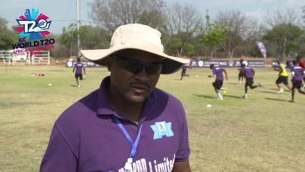 ICC Men's World T20 Africa Region Qualifier C – interview with Mozambique coach Thomas Pekane before game against Malawi