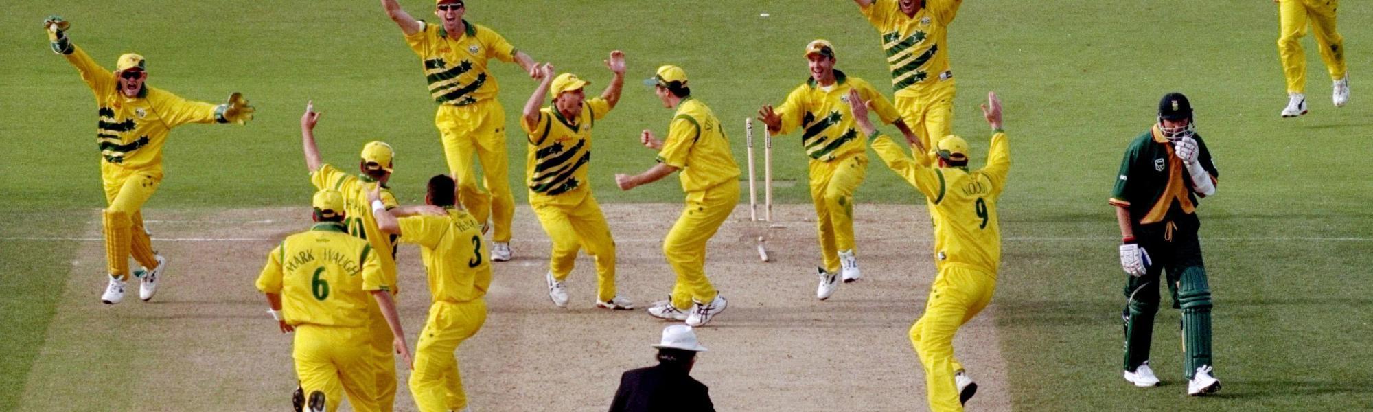 Australia v South Africa 1999 semi-final