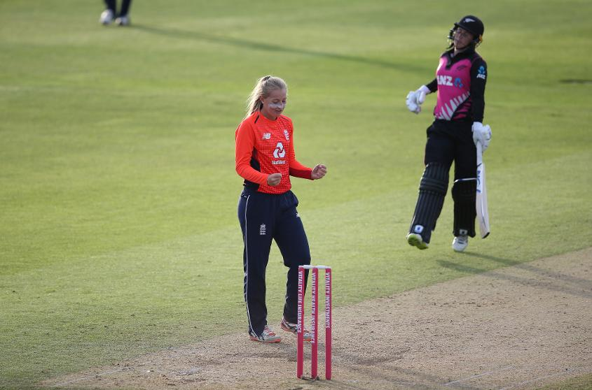 Sophie Ecclestone was Player of the Series against New Zealand and South Africa