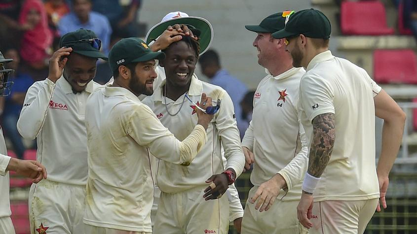 Zimbabwe recorded their first Test victory since late 2013