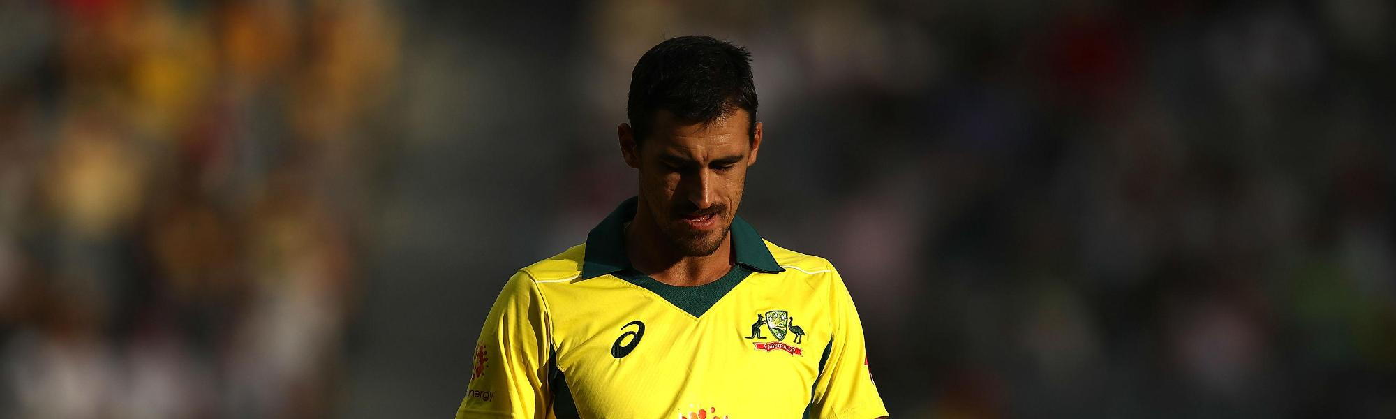 Mitchell Starc has been called up as Billy Stanlake's replacement