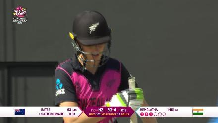 NZ v IND: Satterthwaite falls for three