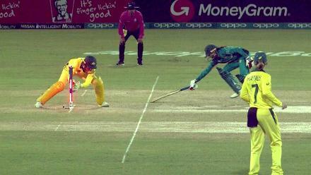Aus v Pak: Umaima run out