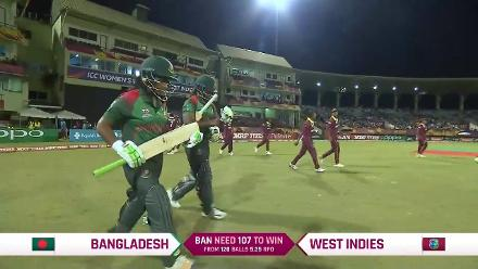 WI v BAN: Bangladesh innings highlights
