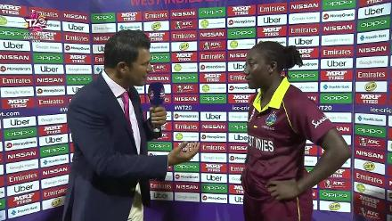 WT20 Match 3: Post-match captains interview