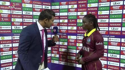 WT20 Match 3: Player of the match – Deandra Dottin