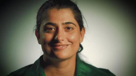 Pakistan's Sana Mir, an ambassador for the sport