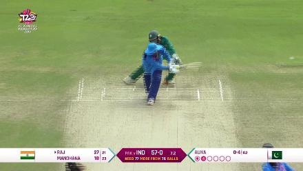 IND v PAK: Mithali Raj's 56 off 47
