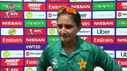 IND v PAK: Bismah Maroof talks after Pakistan set India 134 to win