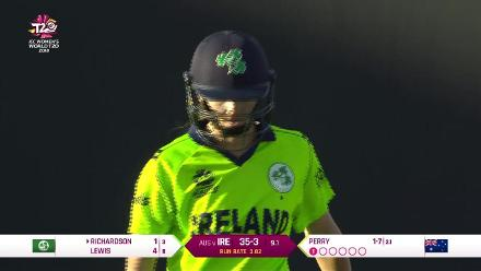 AUS v IRE: Ireland innings highlights