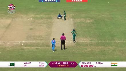 IND v PAK: Nida Dar's 52 off 35 balls