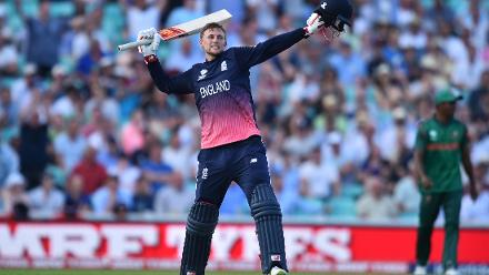 CENTURY: Joe Root dazzles with an unbeaten 133