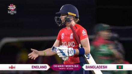 ENG v BAN: England innings highlights