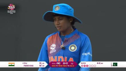 IND v PAK: Mithali Raj - Player of the Match