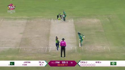 PAK v IRE: How the Pakistan wickets fell