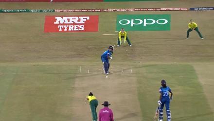SL v SA: Sri Lanka innings highlights