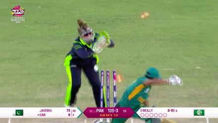 PAK v IRE: Quick hands from Mary Waldron to stump Nida Dar