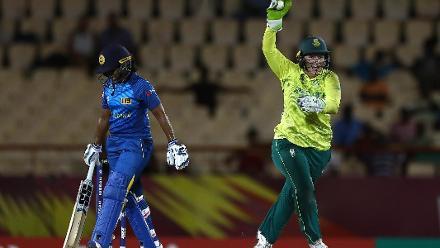 SL v SA: Match highlights in 30 seconds