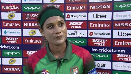 SL v BAN: Jahanara Alam interview at the innings break