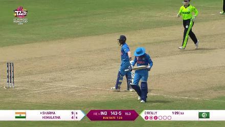 IND v IRE: Dayalan Hemalatha run out after mix-up
