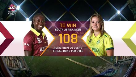 WI v SA: South Africa innings highlights