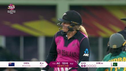 NZ v PAK: Aliya Riaz has two wickets in two balls