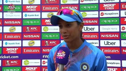 IND v IRE: Smriti Mandhana interview at the innings break