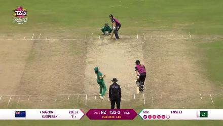 NZ v PAK: New Zealand wickets