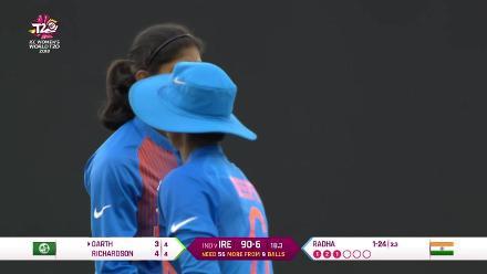 IND v IRE: Radha-Bhatia combination gets Kim Garth