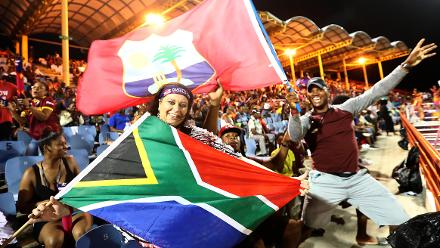 Windies v South Afica, 12th Match, Group A , ICC Women's World T20 at St Lucia, Nov 14 2018