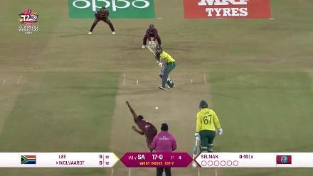 WI v SA: South Africa wickets