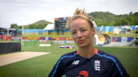 ENG v SA: Danni Wyatt feature