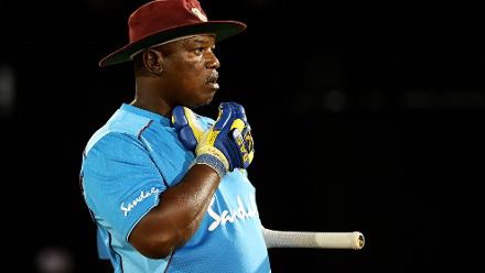 Hendy Springer, Coach of West Indies Women looks on during the ICC Women's World T20 2018 match between West Indies and Sri Lanka at Darren Sammy Cricket Ground on November 16, 2018 in Gros Islet, Saint Lucia.