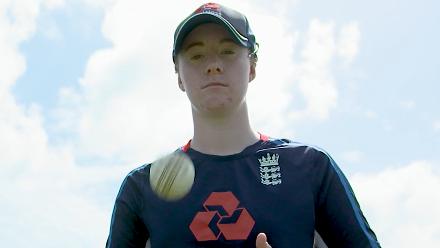 ENG v SA: Kirstie Gordon, young England spinner