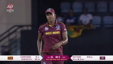 WI v SL: Matthews returns match-winning figures of 3/16