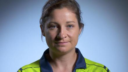 NZ v IRE: Clare Shillington, Ireland's batting mainstay